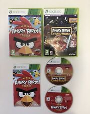 Angry Birds Trilogy & Angry Birds Star Wars Microsoft Xbox 360 Games