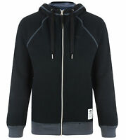 Men's New Adidas Originals Fleece Hoodie, Hoody Hooded Sweatshirt Jumper - Black