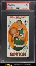 1969 Topps Basketball Don Nelson ROOKIE RC #82 PSA 6 EXMT