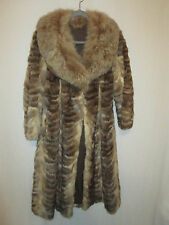 Custom Sable Coat w/Fox Collar S/M