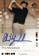2002 SP Authentic Limited Phil Mickelson Autographs