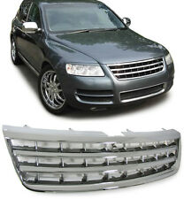DEBADGED SPORTS CHROME BONNET GRILL VW TOUAREG 7L 2002-2006 PRE-FACELIFT MODEL