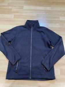 Rab Explorer Jacket Mens Large Blue Fleece