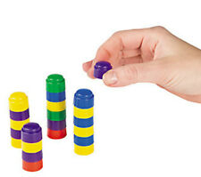 Plastic Colourful Counting Stacking Blocks x 200