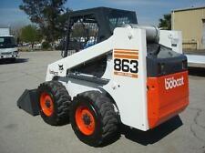 BOBCAT 863  Loader Service & Operator's  Manual CD