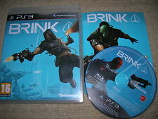 BRINK - Rare Sony PS3 Game
