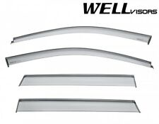 WELLvisors For 2011-2019 Jeep Grand Cherokee Clip On Side Vents Window Visors