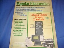 Popular Electronics April 1975 Analog Digital Memory Translator  Stanton 681EEE