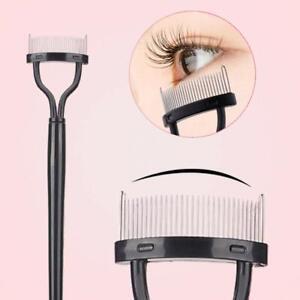 New Beauty Makeup Eyelash Metal Brush Comb Lash Separator Mascara Lift Curl Tool