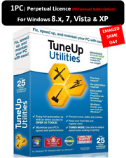 TuneUp Utilities 2013  1PC PERPETUAL | LICENCE KEY EMAILED for Windows 8, 7 & XP