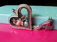ORIGAMI OWL Disney-Inspired Cinderella Heart Locket!  Pumpkin, Princess Dress