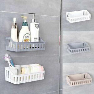 Shower Caddy Storage Shelves Convenient Suction Cup Bathroom Storage Basket NEW