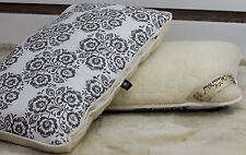 MIX GREY TWO Quality Merino Wool PILLOW PERFECT GIFT 45x75cm Woolmarked