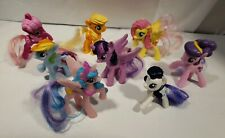 Lot Of 8 My little Pony Friendship Is Magic Mcdonald's Pony Toys