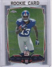 ODELL BECKHAM JR. ROOKIE CARD 2014 Topps Chrome RC New York Giants Football #13