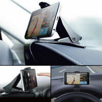 Universal Clip On Car GPS Dashboard Mount Cell Phone Holder Non-slip Stand UK