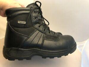 Thorogood Deuce 804-6190 Black Leather Tactical Boots,  Men's 5.5/Women's  7.5 M