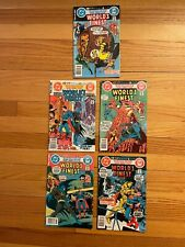 WORLD'S FINEST #273 274 275 276 #277 DC Comics 1981 BATMAN SUPERMAN d
