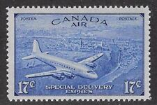 Canada, Air Mail Special Delivery 1946 17¢ Ultramarine Sc #CE3, VF, MNH - dw59.6