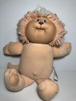 """Vtg 1983 Coleco CABBAGE PATCH KIDS Koosas Peachy CAT DOLL Lion Plush 15"""""""
