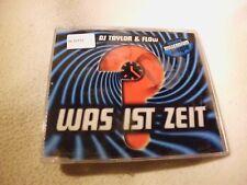 DJ Taylor & Flow  - Was Ist Zeit? - Maxi CD nicht OVP