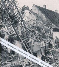 Gerbstädt - Gerbstedt - Wolkenbruchkatastrophe - um 1925     i 5-17