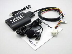 Yatour Bluetooth Adapter CD Changer Handsfree Car Kit For Nissan Infiniti Radio