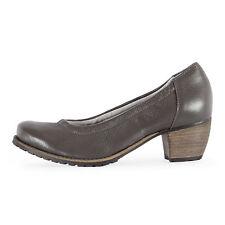 NATURAL FEET Damen Leder Pumps TMNF0046 Resita Dunkelgrau / 36 – 41 H / Schuhe