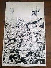 Infinity Abyss Issue 1 pg 28 3/4 Spider-Man Splash by Jim Starlin