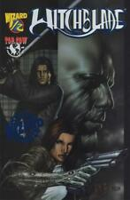 Witchblade 1/2 half Wizard Special Edition Blue Foil # 762 of 1000 With COA