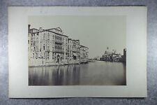PERINI ANTONIO. VENISE. 4 PHOTOGRAPHIES. VERS 1870.
