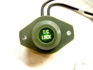 LED Green - 'T/C LOCK' Indicator ; Hummer  Humvee ; 6220-01-362-5211  12342788