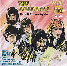 """The Fortunes """" Here It Comes ANCORA UN """" 15 TRACCE CD NUOVO ORIGINALE DIEGO DSB"""