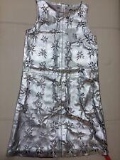Paul & Joe Paris Laser Cut Leather Dress Sz 36 UK 8 RRP £575