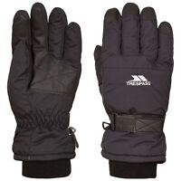 Trespass Mens Womens Ski Gloves Water Resistant Lightly Padded Gohan II