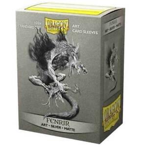 Dragon Shield: Limited Edition Art Sleeves Silver Matte - Fenrir(100ct)