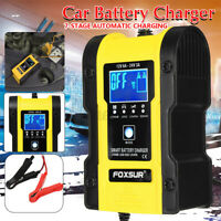 Automatic Intelligent 12V 24V LCD Touch Screen Pulse Repair Battery Chargers AU