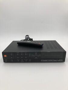 JBL ESC230 Surround Processor/Amplifier 6 Channel Digital Direct Inputs