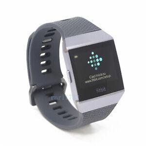 Fitbit Ionic Smart Watch Wireless Bluetooth Fitness Activity Tracker Box Sealed