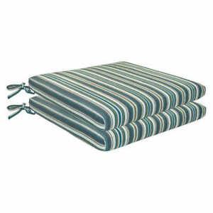 Sunbrella outdoor seat cushion  2 pack