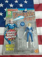 Marvel Superheroes Fantastic Four Invisible Woman Action Figure MOC ToyBiz 1994