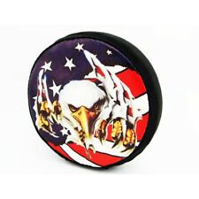 Hot Racing SCX36117E 1/10 Scale US Eagle Spare Tire Cover - Axial SCX10 (toy)