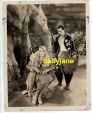 BUSTER KEATON ANITA PAGE ORIGINAL 8X10 PHOTO 1930 FREE AND EASY