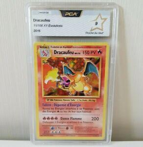 Pokemon Dracaufeu French Charizard 11/108 Holo Rare PCA 9 PSA