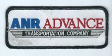 Anr Advance Transportation Company driver patch shirt/cap 2 X 5 inches #319