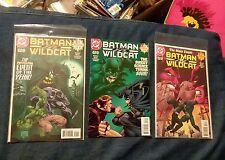 DC Comics BATMAN VS WILDCAT Complete Set 1-3 KILLER CROC 1997 lot run collection