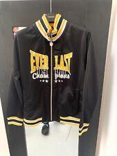 Everlast Men's Black quilted baseball jacket (M)