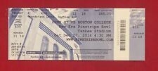 2014 New Era Pinstripe Bowl College Football Ticket Penn State PSU vs Boston C.