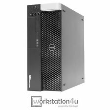 Dell T3610 PC Intel Xeon E5-2643 RAM 32GB SSD 128 GB HDD 1TB Quadro 2000 + W10