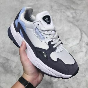 Adidas Originals Falcon Casual Running Shoes EE9311 White/Purple Women's Size 11